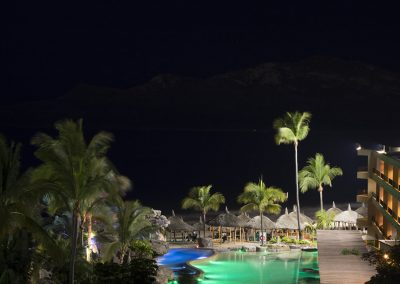 Pool Night Playa Mazatlan