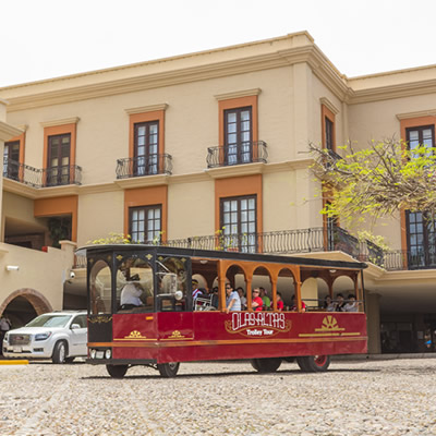 City Trolley Tour Playa Mazatlan Beach Hotel