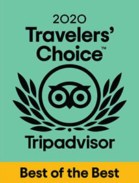 Travelers Choice 2020 Mejor Hotel Familiar en Mexico por Tripadvisor