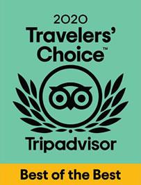 Travelers Choice 2020 Mejor Hotel Familiar en Mexico por Tripadvisor