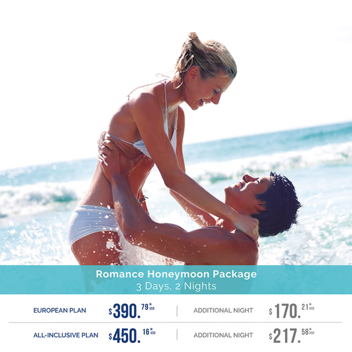Honeymoon Package 2017 Playa Mazatlan