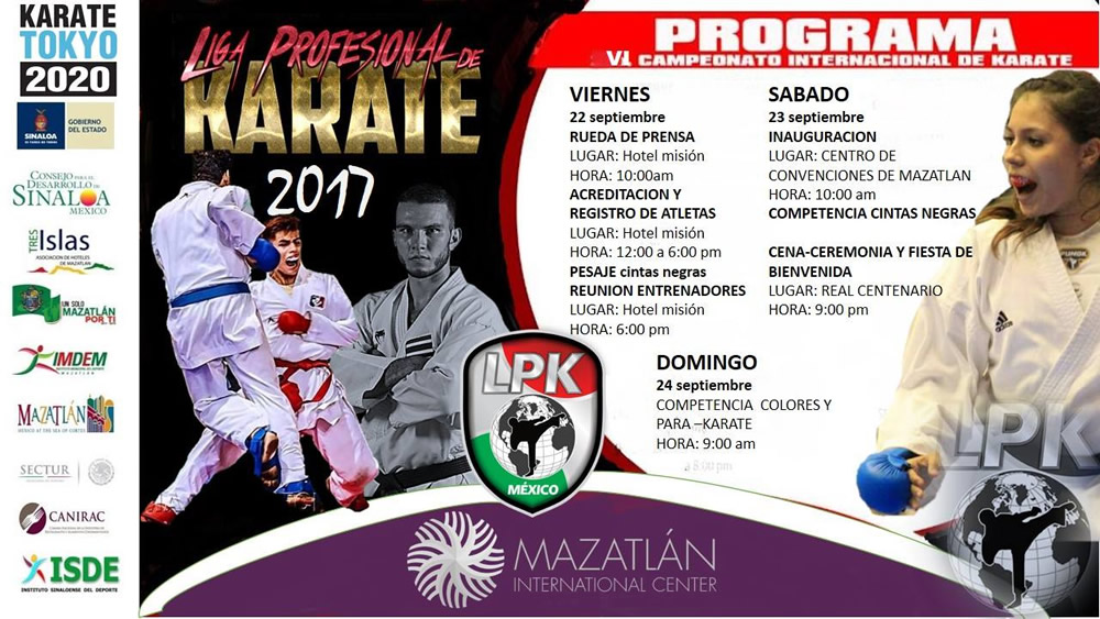 International Karate Championship of the LPK Mexico