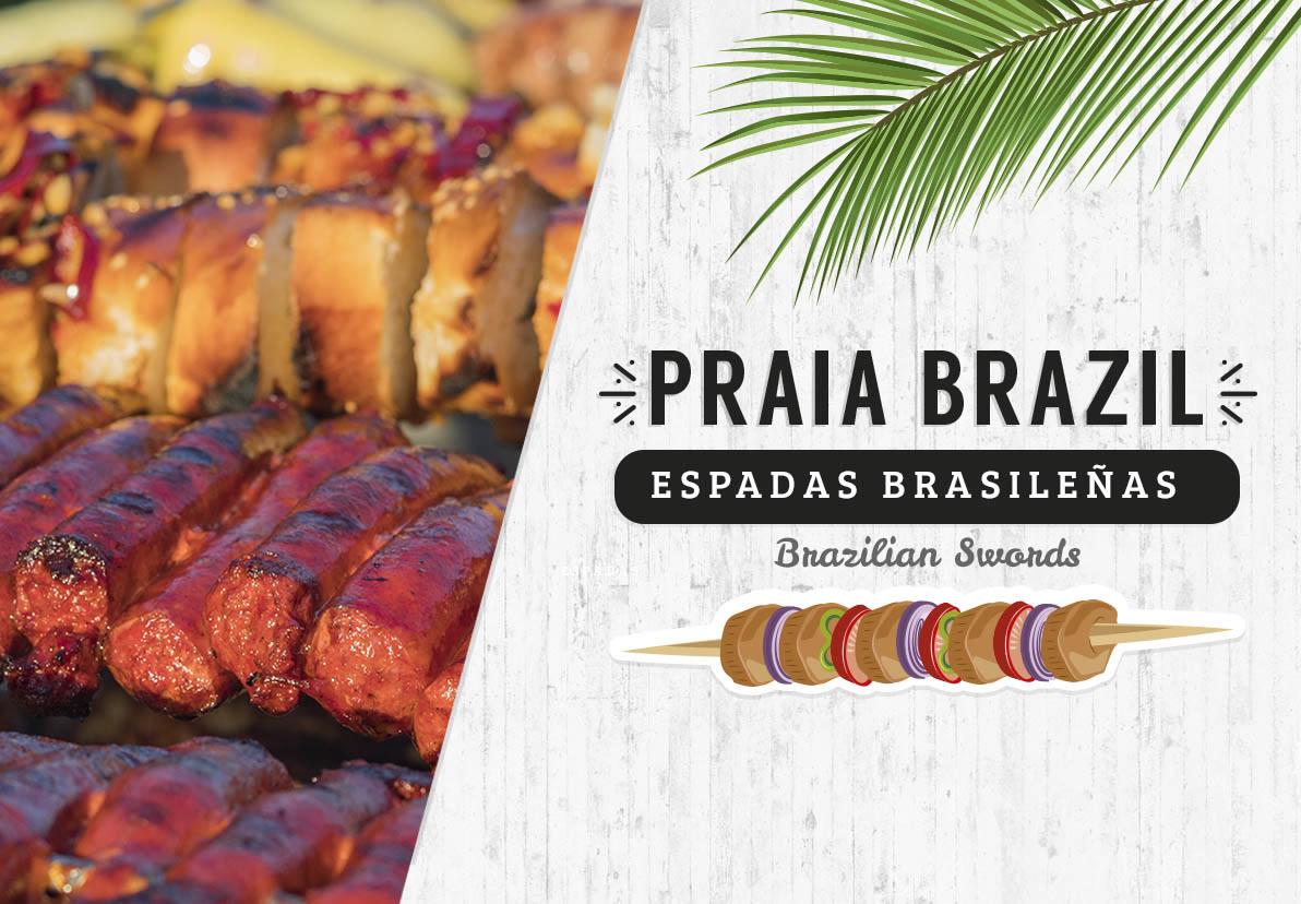 Brazilian Swords Attractions Playa Mazatlan