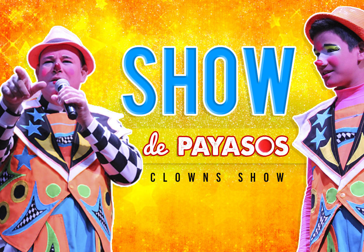 Clown Show Attractions Playa Mazatlan