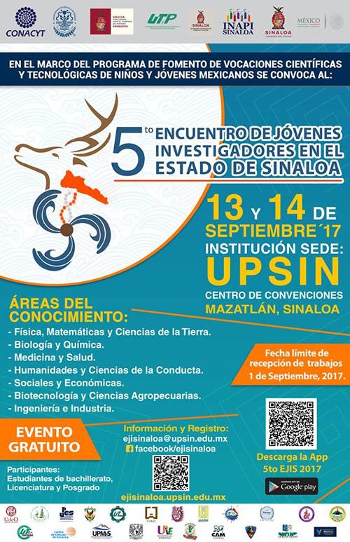 Quinto Encuentro de Jóvenes Investigadores en el Estado de Sinaloa