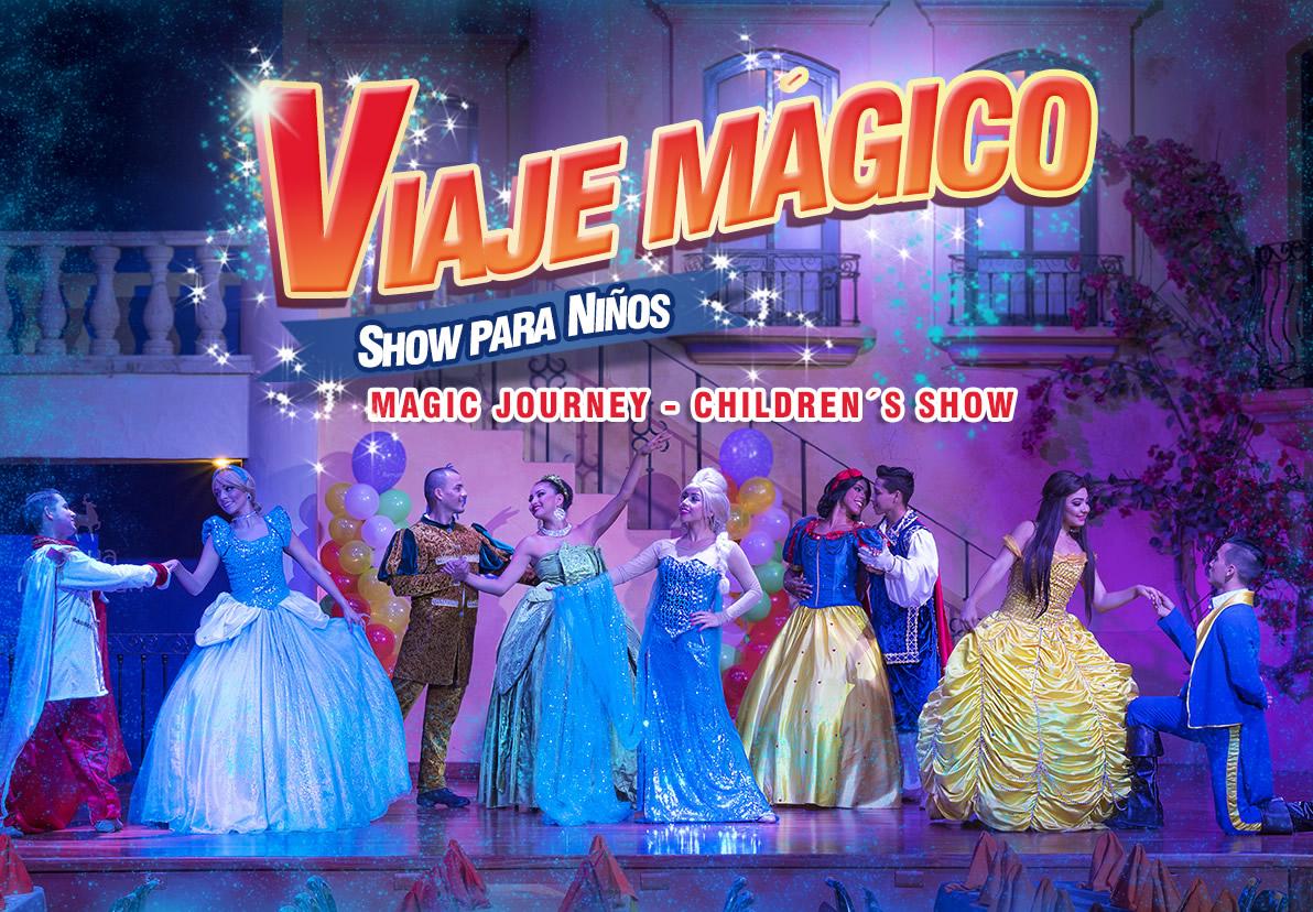 Show Viaje Magico Atracciones Hotel Playa Mazatlan