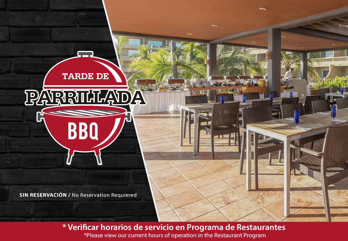 Barbecue Hotel Playa Mazatlan