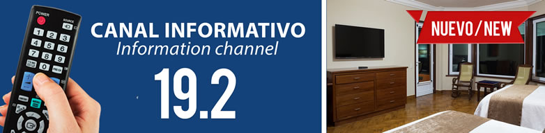 Information Channel 19.2 Hotel Playa Mazatlan