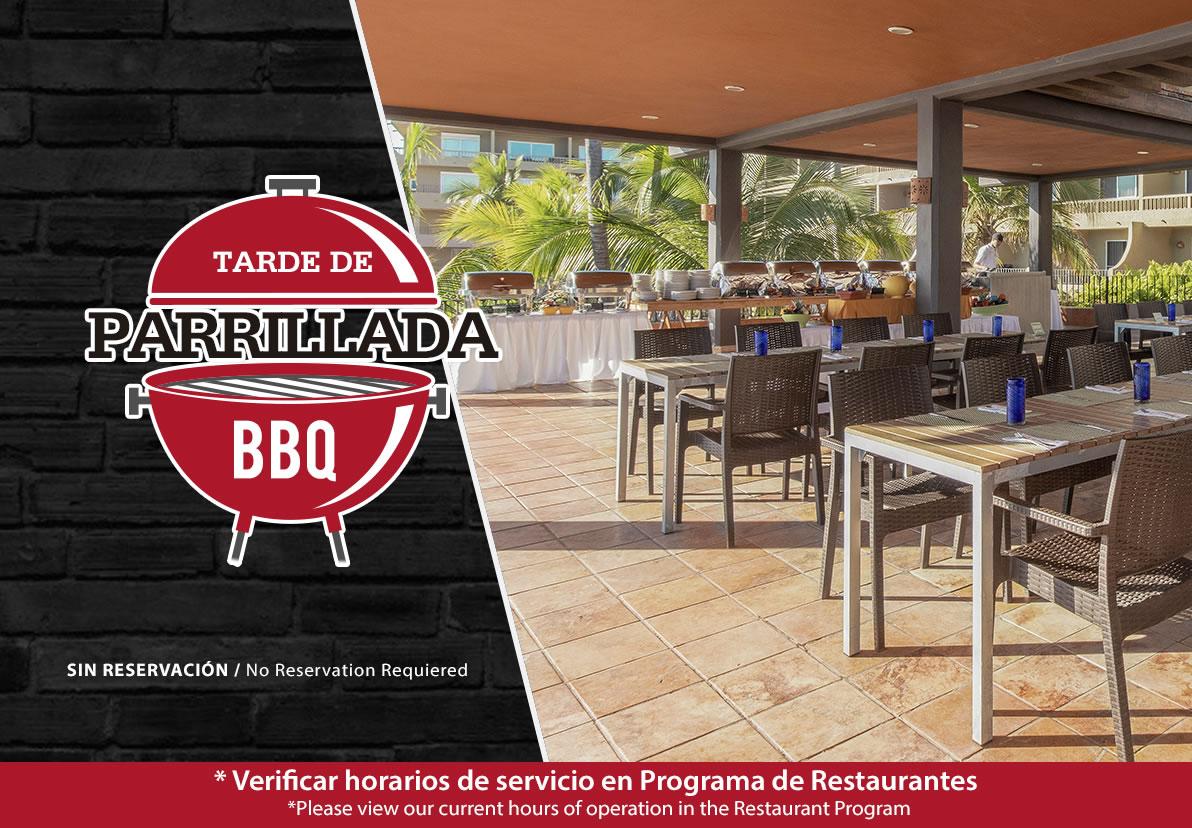 Parrilladas en Hotel Playa Mazatlán