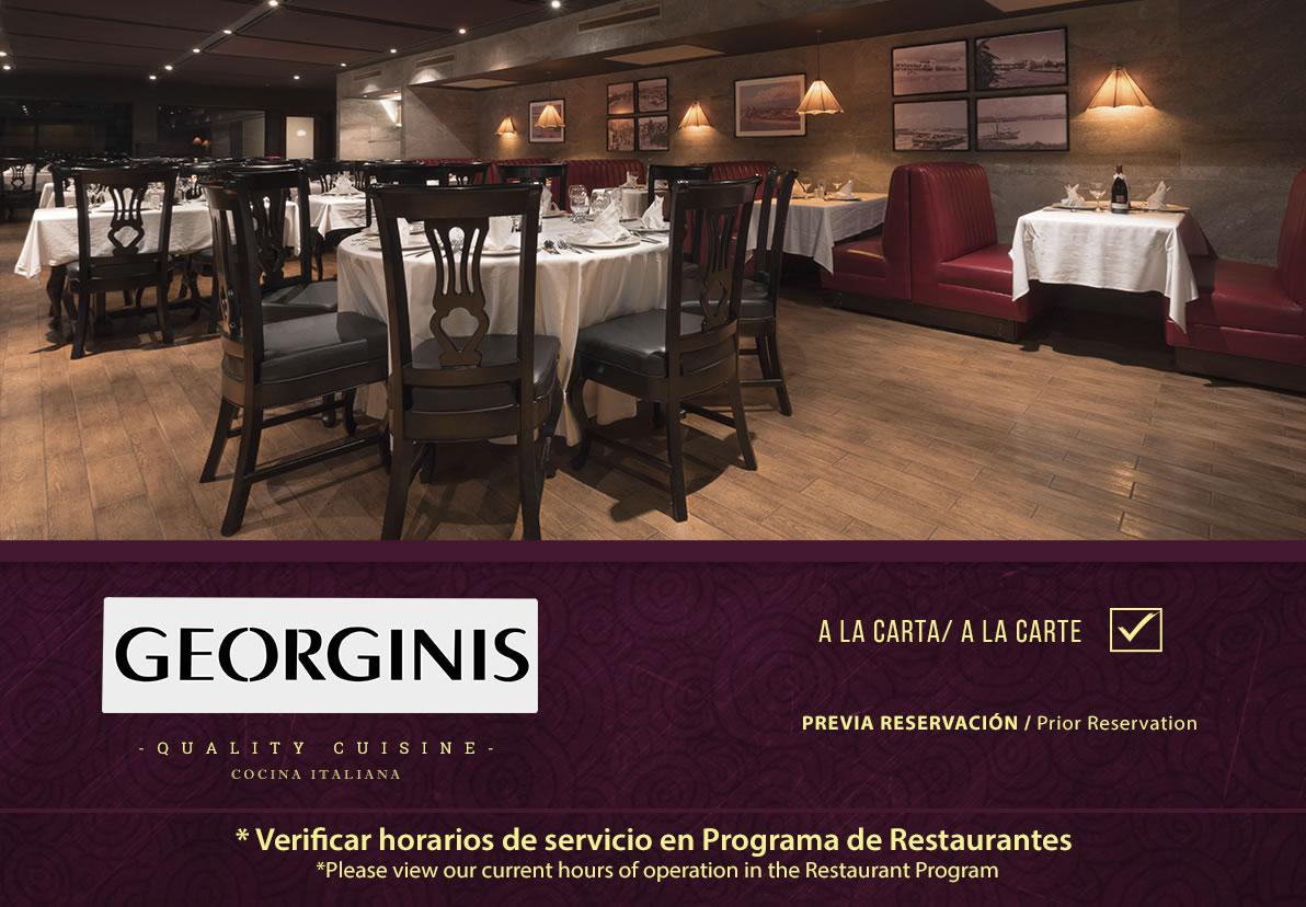 Restaurant Georginis Hotel Playa Mazatlan
