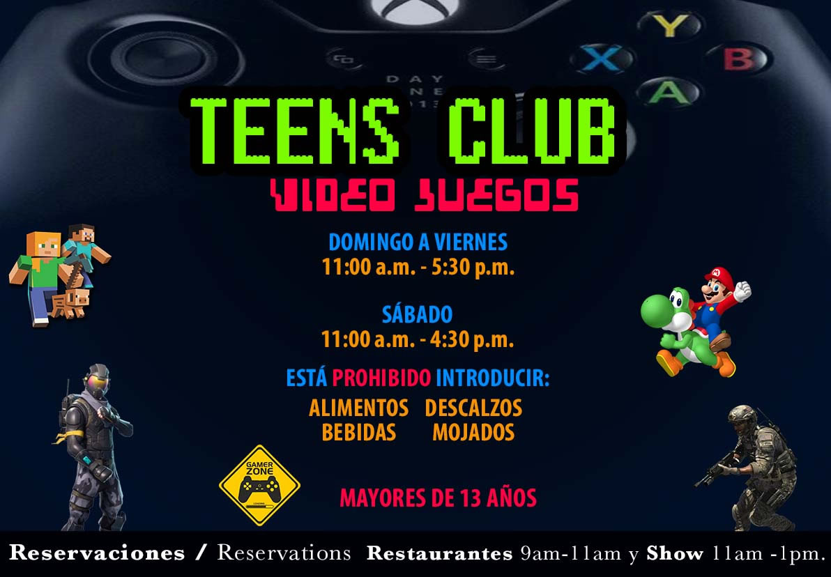 Teens Club Hotel Playa Mazatlan