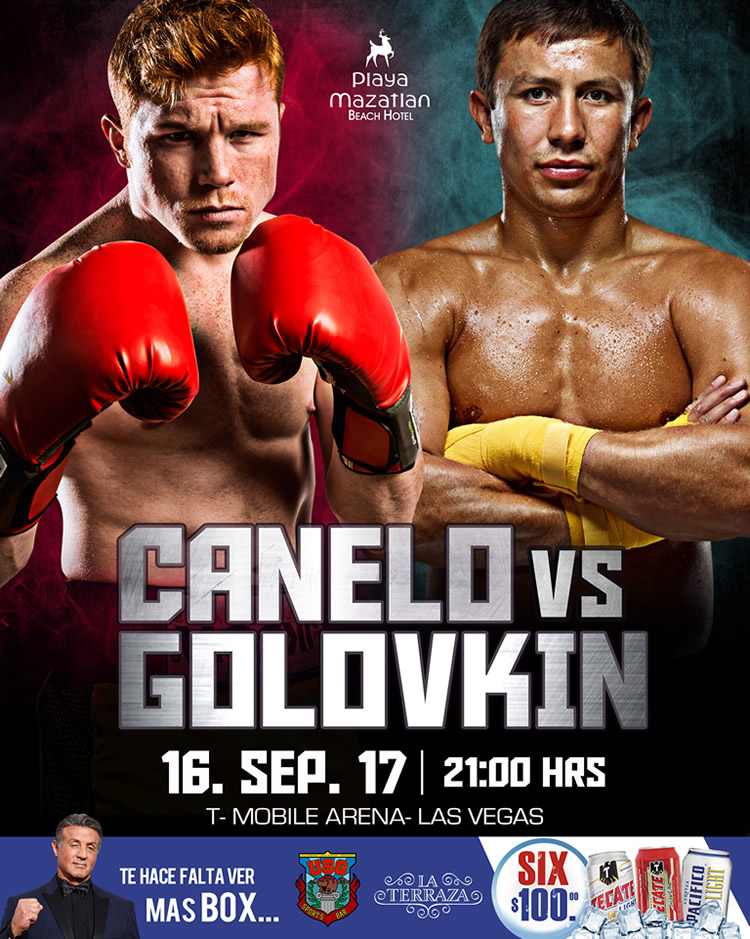 Box Canelo vs Golovkin