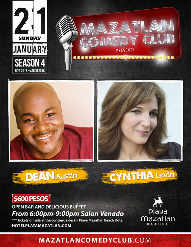 Dean Austin and Cynthia Levin Mazatlan Comedy Club Season 4