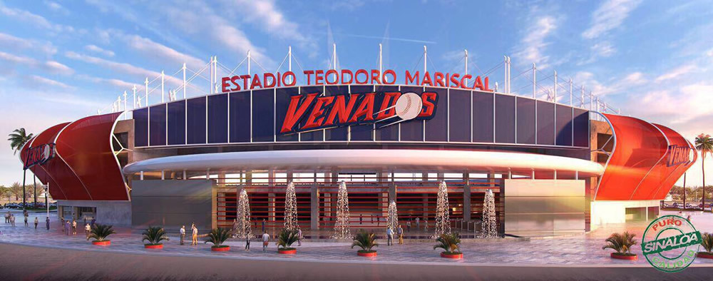 Started to remodel the Mazatlan Baseball Stadium