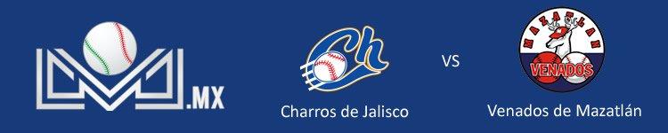 Charros de Jalisco vs Venados de Mazatlán Octubre 12