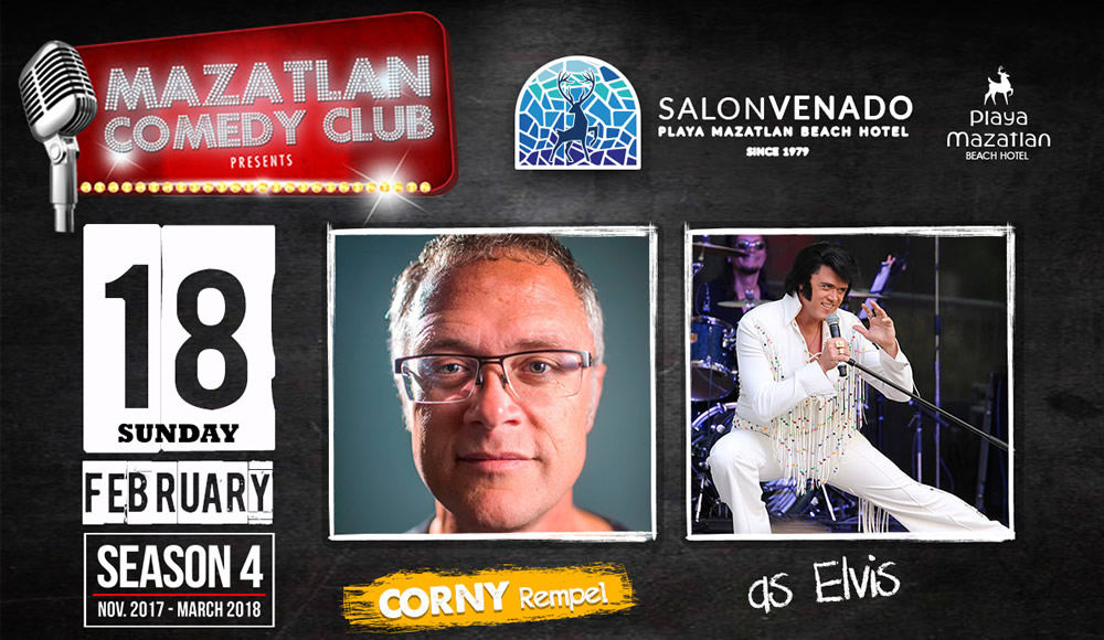 Meet Corny Rempel Mazatlan Comedy Club Season 4
