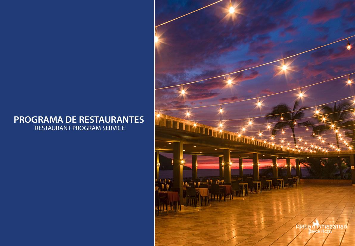 Programa de Restaurantes