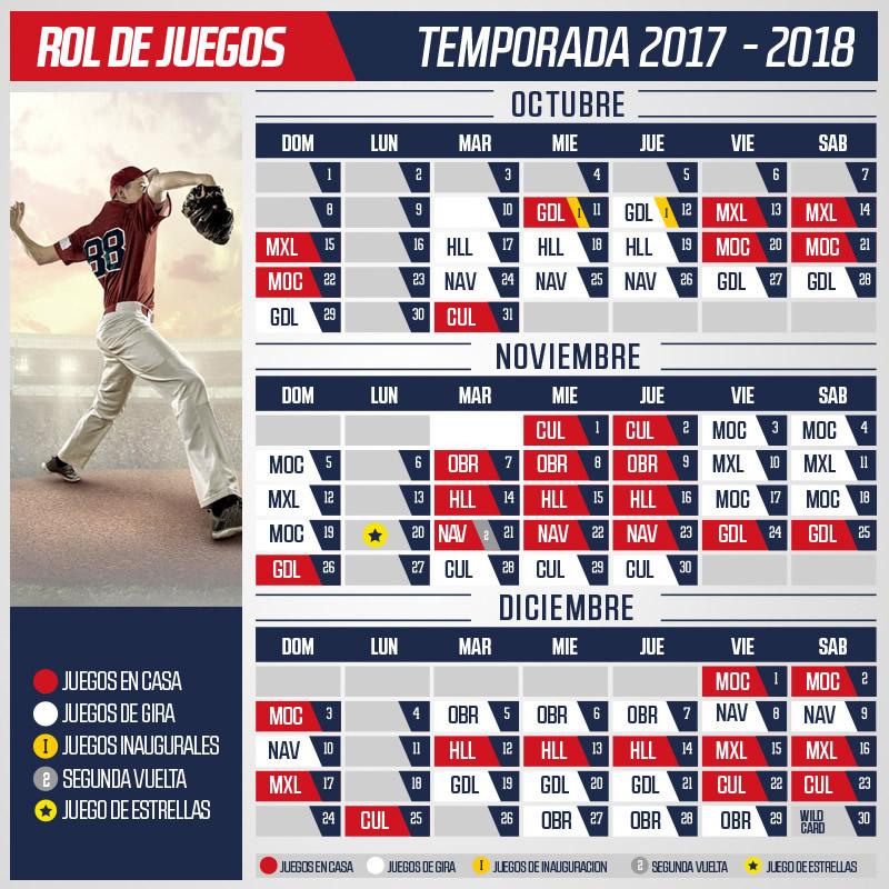 Venados de Mazatlan Schedule