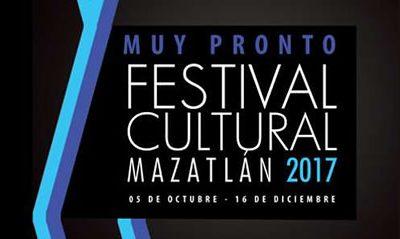 Ya se acerca el Festival Cultural Mazatlán 2017