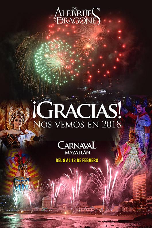Mazatlan International Carnival 2018