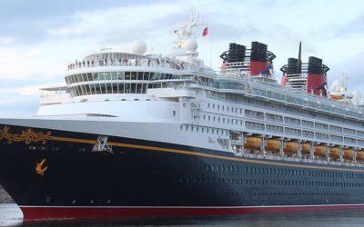 The Disney Wonder Arrives in Mazatlan