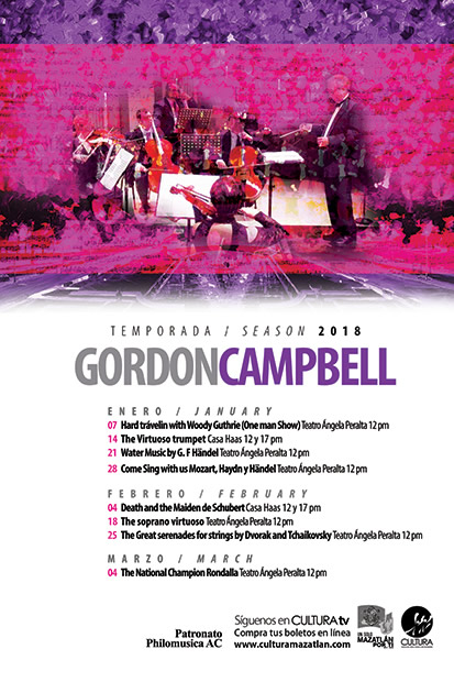 Gordon Campbell Season 2018