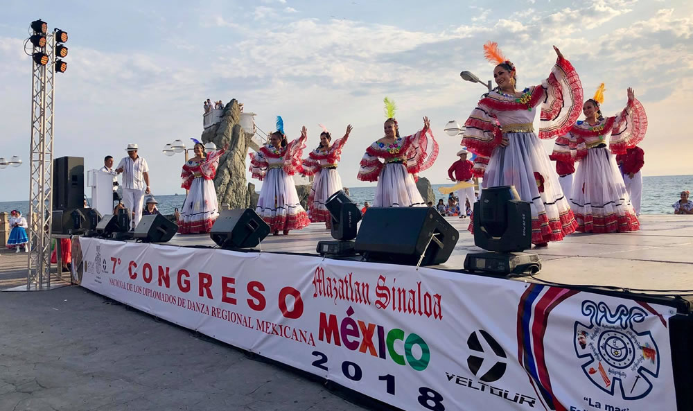 Mazatlan hosted the seventh Mexican Regional Dance Congress