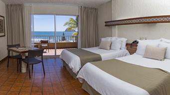 Habitación Vista al Mar Hotel Playa Mazatlán