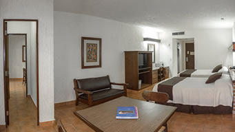 Interior Superior Family Room Hotel Playa Mazatlan