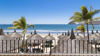 Vista Panorámica Habitación Vista al Mar Hotel Playa Mazatlán