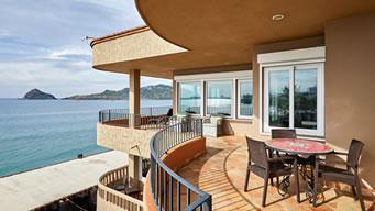 Vista Panorámica Penthouse Pacífica Hotel Playa Mazatlán