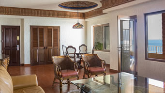 Interior Cielito LIndo Penthouse Hotel Playa Mazatlan