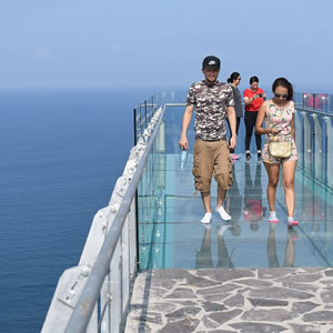 Glass Bridge Mazatlan Lighthouse