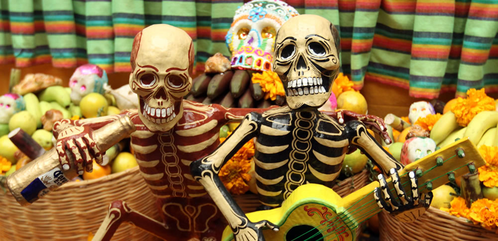 Celebration of the Day of the Dead