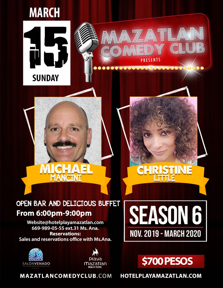 Comedy Club Season 6 with Michael Mancini and Christine Little