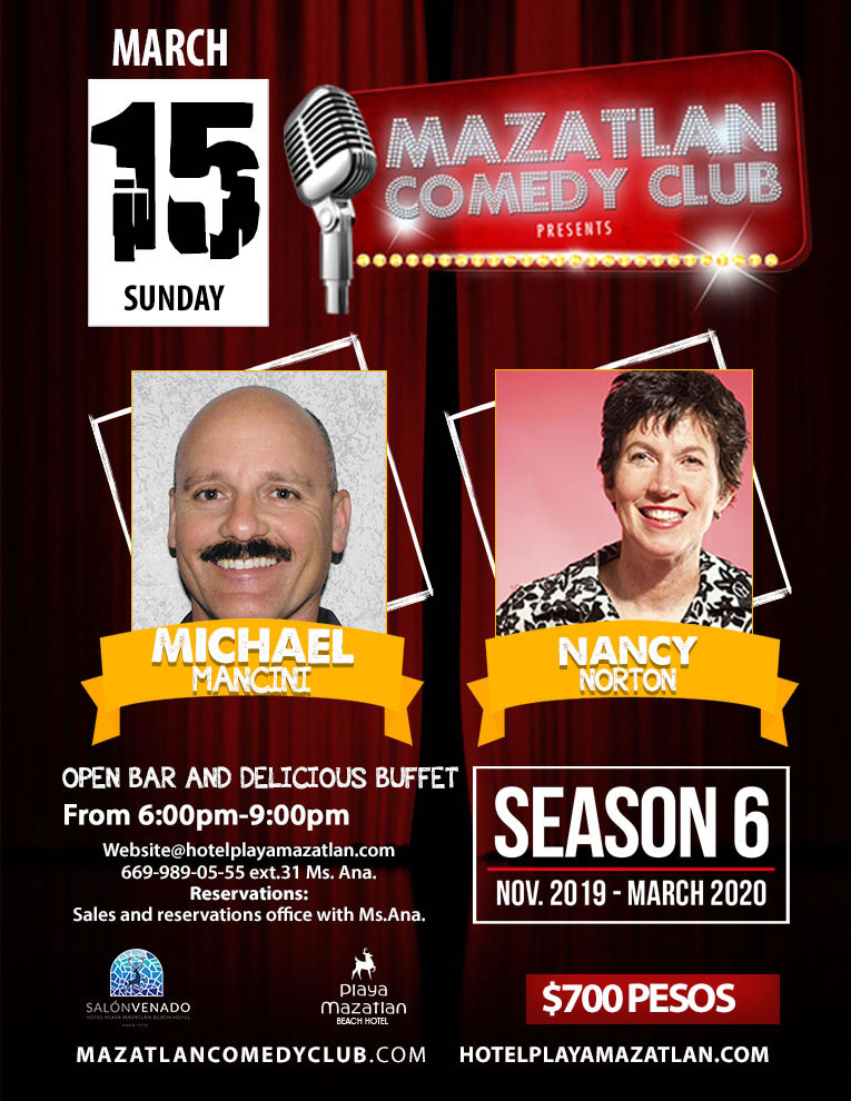 Comedy Club Season 6 with Michael Mancini and Nancy Norton