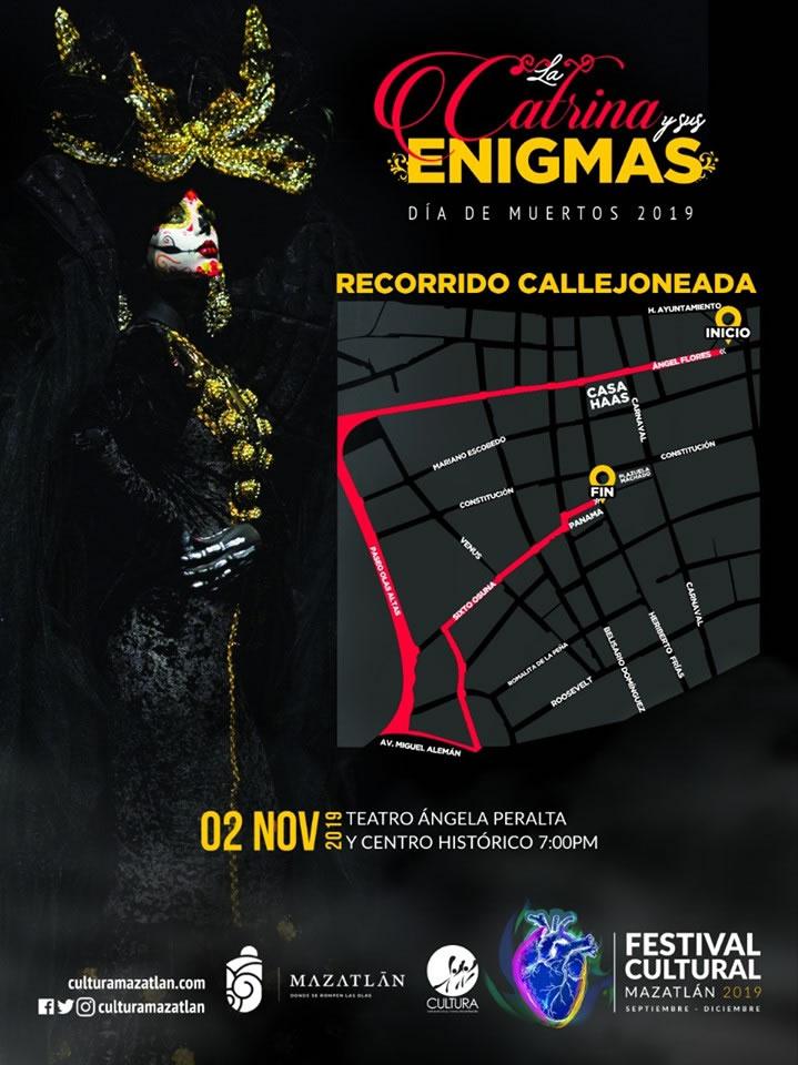 Callejoneada Day of the Dead Mazatlan 2019