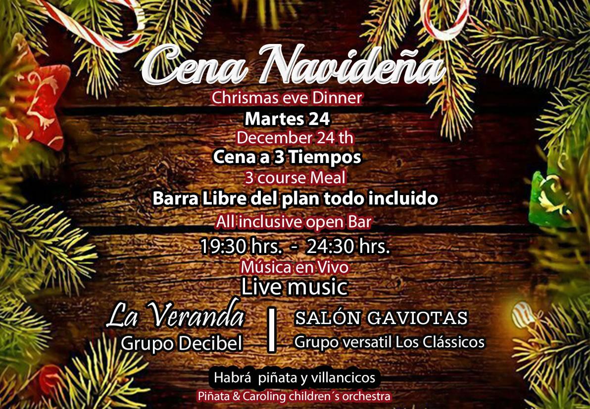 Christmas Eve Dinner at Hotel Playa Mazatlan