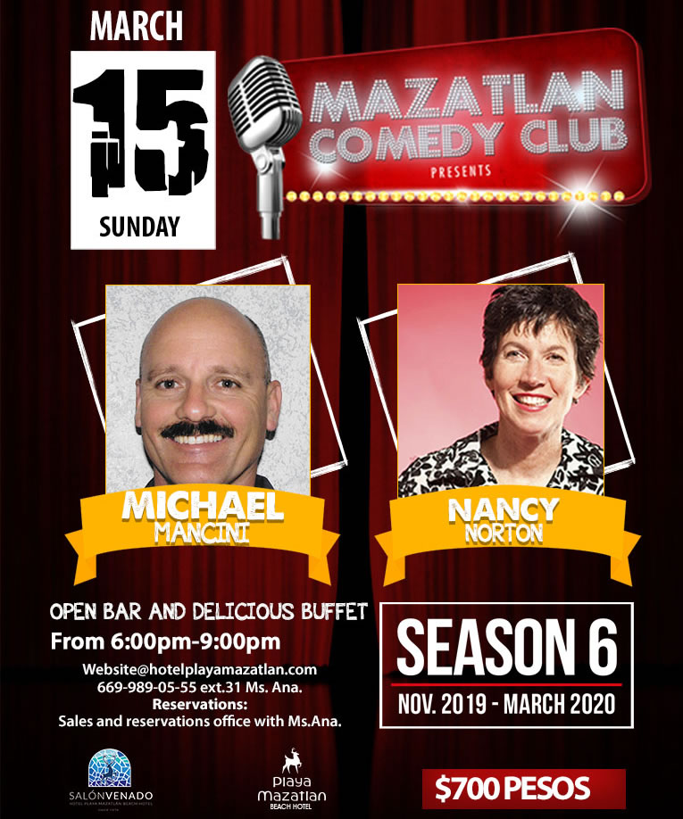Mazatlan Comedy Club by Michael Mancini and Christine Little