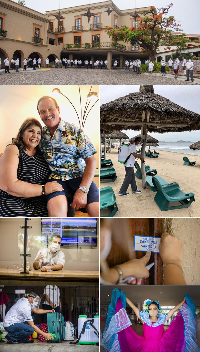 Así se vivió la reapertura de Hotel Playa Mazatlán