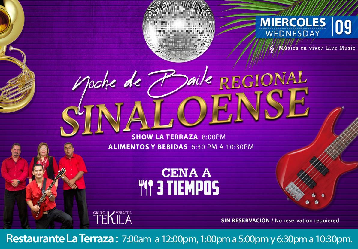 Dance Night Regional Music at La Terraza Restaurant Wednesday 9 September 2020