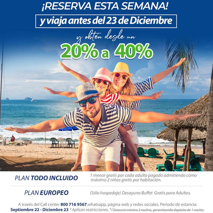 Extendemos nuestras Promociones Reserva Ya en Hotel Playa Mazatlán