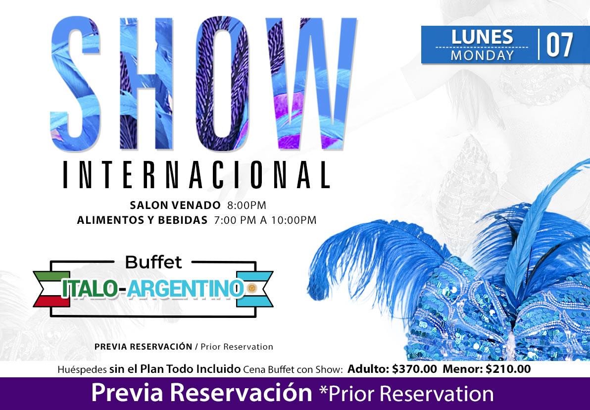 International Show at Salon Venado Monday September 7 2020