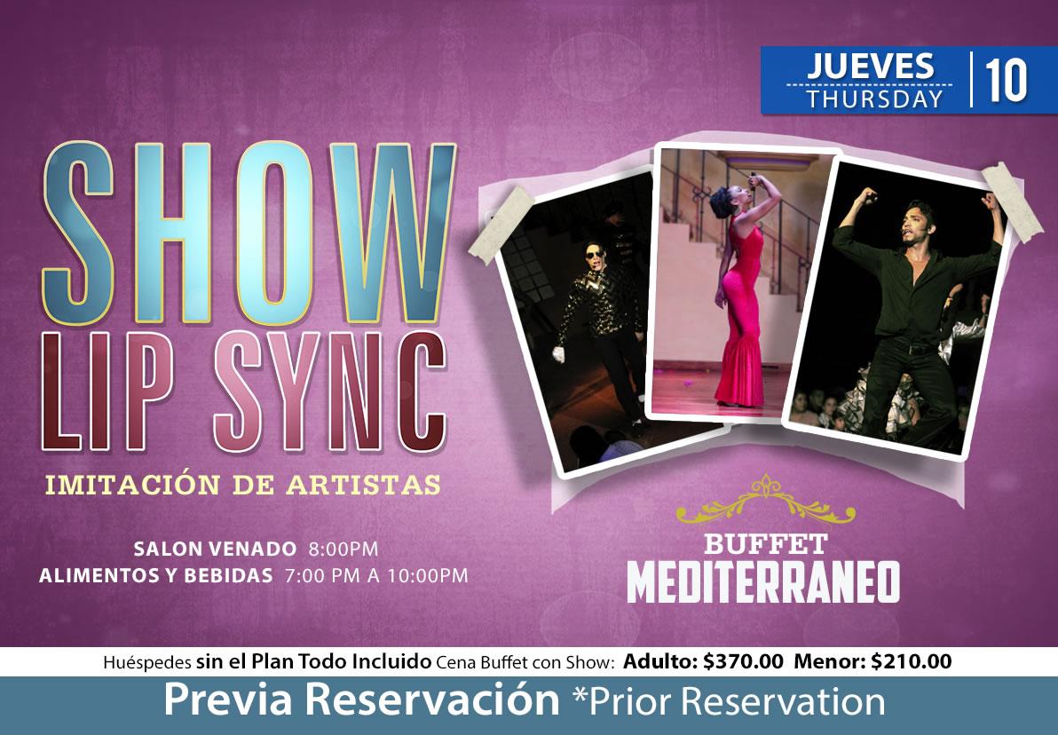 Lip Sync Show at Salon Venado Thursday 10 September 2020