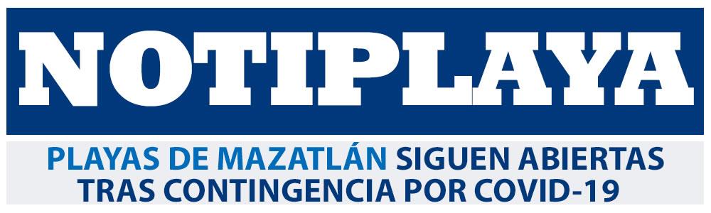 Playas de Mazatlán siguen abiertas tras contingencia por Covid- 19