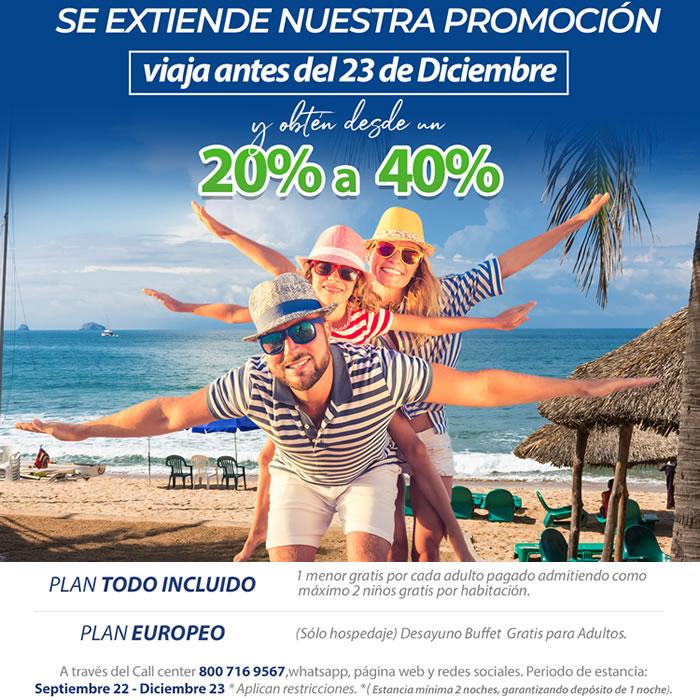 Seguimos de Promoción Aprovecha nuestros Descuentos Hotel Playa Mazatlán
