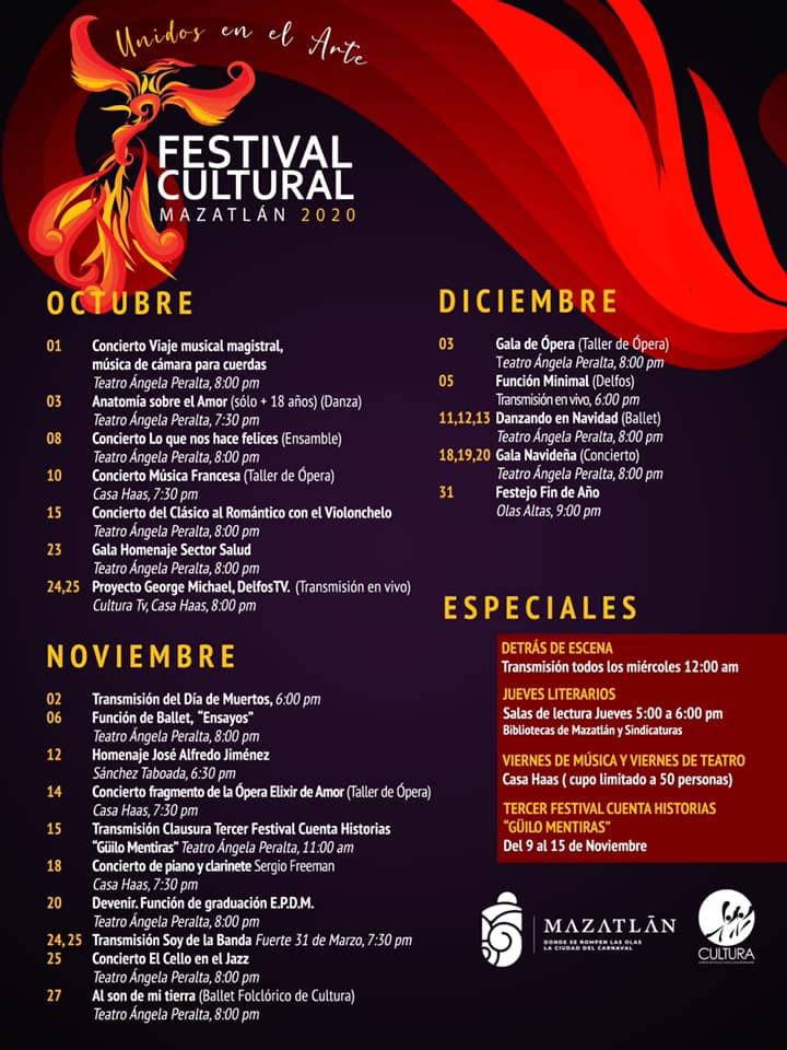 Festival Cultural Mazatlán 2020