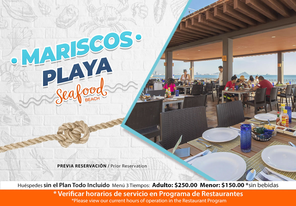 Marisquería de Hotel Playa Mazatlán