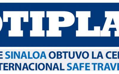 ¿Sabías que Sinaloa obtuvo la Certificación Internacional 'Safe Travel'?
