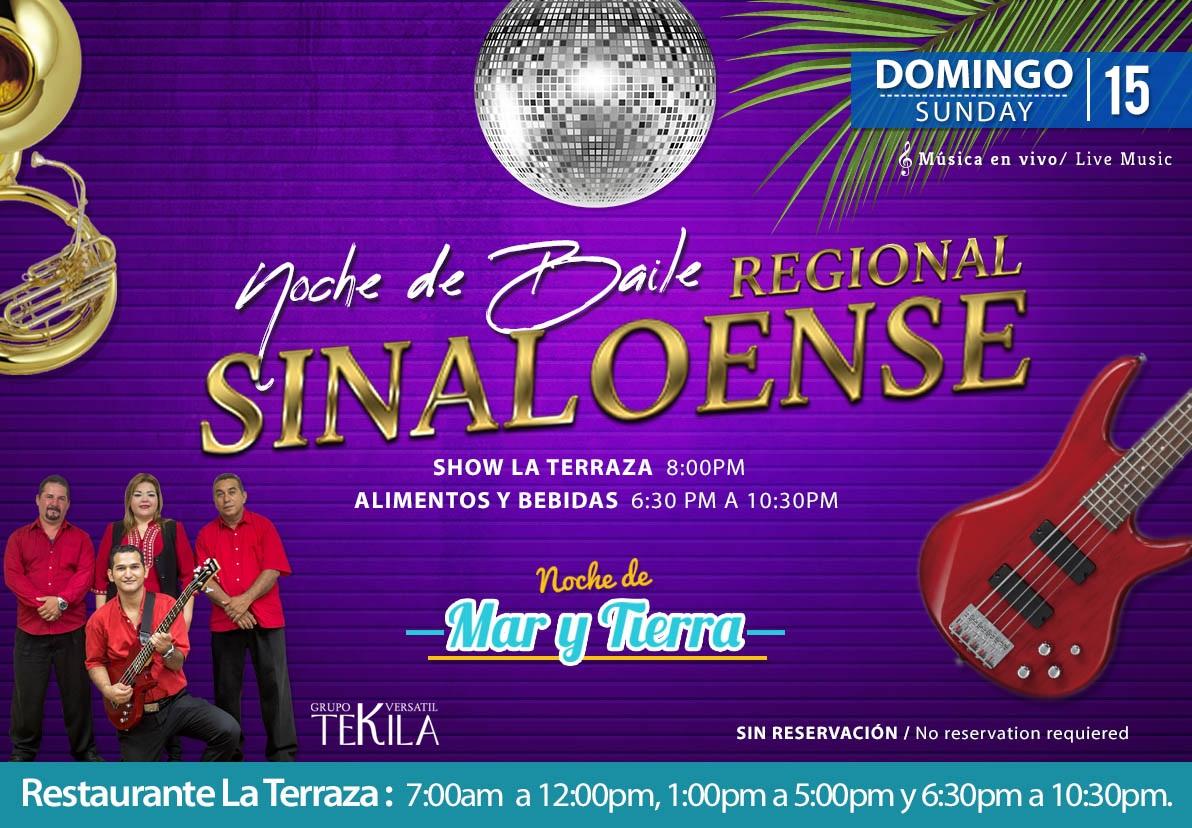 Baile Regional sinaloense en Restaurante La Terraza Domingo 15 de Noviembre 2020